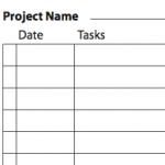 Бланк карточки проекта