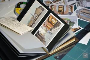 Фотоальбом. Сменный блок для ежедневника. Фото и текст вклеиваются.